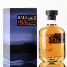 巴布莱尔(Balblair)洋酒 1983 苏格兰威士忌 单一麦芽 700ml *2件 7549元(合3774.
