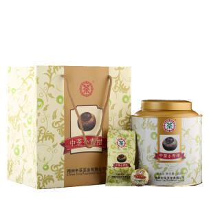 中茶小青柑 正宗新会小青柑 梧州六堡茶黑茶 特级茶礼盒装 300g 262.4元