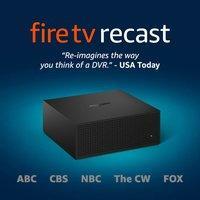 $179.99 500GB/75小时Fire TV Recast 电视节目录像机 支持ABC, CBS, FOX, NBC, PBS等