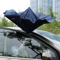 上下车不再打湿衣裤、2把:途虎 AP-TH-FXS|1 双层免持式反向伞 33.5元包邮(合16.75元/件)