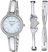 折合440.93元 Anne Klein 珍珠母贝施华洛世奇水晶腕表套装
