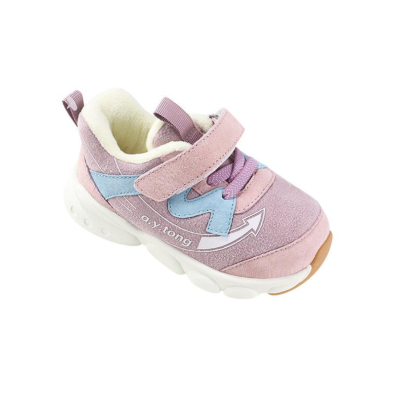 儿童机能鞋 加绒宝宝鞋子  券后9.9元