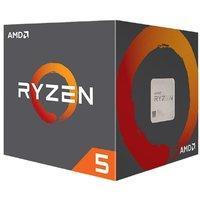 AMD 锐龙 Ryzen 5 2600 3.4GHz CPU处理器 带散热器