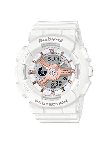 ¥568.36 CASIO 女式模拟数字石英手表树脂表带