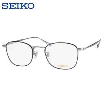 SEIKO 精工 H03097 轻盈全框眼镜框+明月1.60折射率 377.2元包邮