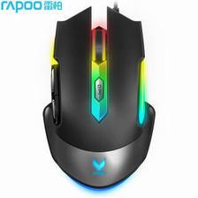 雷柏(Rapoo) V302 幻彩RGB 电竞鼠标 游戏鼠标 89元