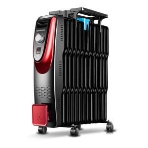 美的 1600w电油汀取暖器 三档可调 99元起包邮