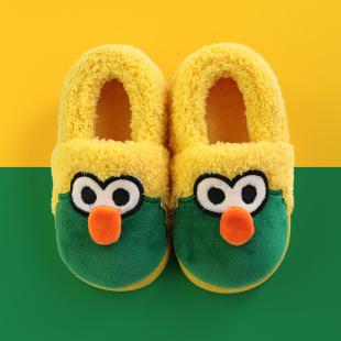 超值 宝宝冬季保暖卡通棉拖鞋 ¥15