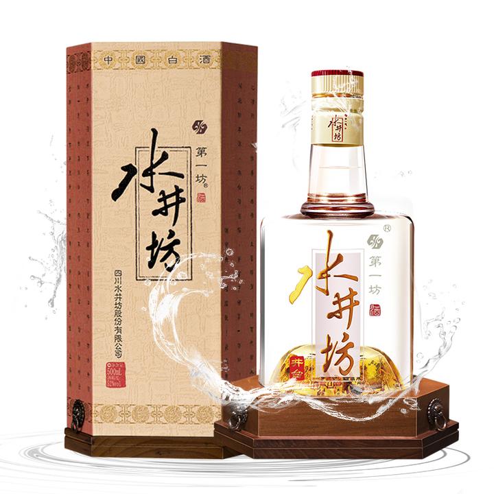 swellfun 水井坊 井台瓶 52度 浓香型白酒 500ml 399元