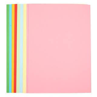 晨光(M&G)文具彩色A4/8色多功能复印纸 手工纸 折纸 卡纸 80页/包APYNB396 7.5元