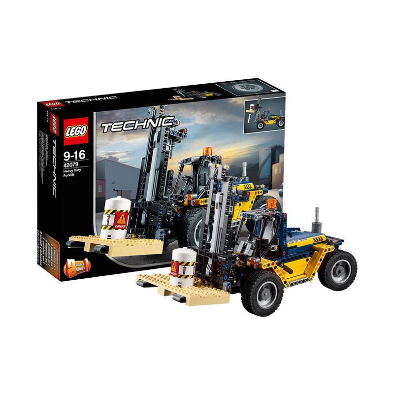 考拉海购黑卡会员: LEGO 乐高 Technic 机械组系列 42079 重型叉车 291.84元包邮包税