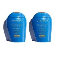 折合¥244/件 + 2组免邮中国 Shiseido 新艳阳防护乳 SPF50+ 100ml*2件装 限时8折