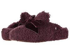 折合367.43元 UGG Addison Velvet Bow Slipper 保暖拖鞋