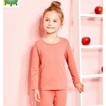 京东商城 降温保暖、6色可选:Miiow 猫人儿童内衣套装 *2件 59.8元包邮(双重优惠,合29.9元/件)