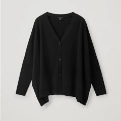 COS 黑色毛衣开衫