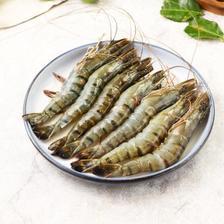 拓食 原装进口越南生冻黑虎虾(特大号)800g/盒 16-24只 火锅食材 海鲜水产 *