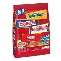 $12.1 一个$0.12 Nestle 迷你雀巢牛奶巧克力等100个混合装