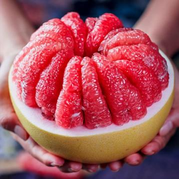 19.9元包邮!JINSHUIGUO 福建平和琯溪蜜柚 红心柚子箱10斤 需用10元优惠券
