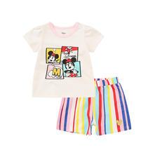 迪士尼 儿童短裤短袖两件套 券后¥59