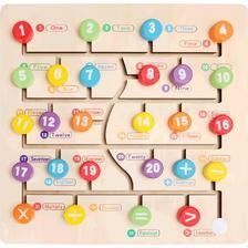 儿童专注力训练 数字字母走位玩具  券后34.9元