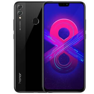 华为(HUAWEI) 荣耀8X 智能手机 幻夜黑 4GB 64GB 999元