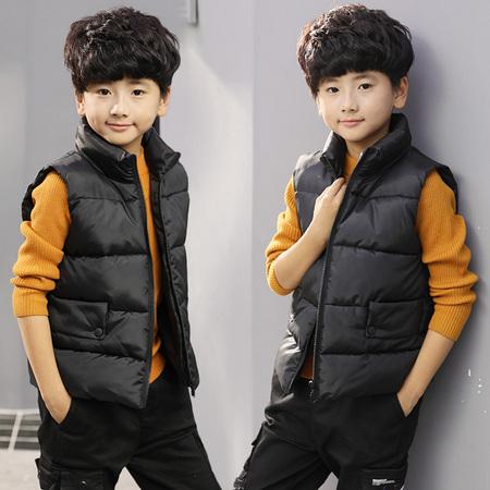 西努克 儿童羽绒棉马甲背心 90-160cm可选 19.9元包邮(需用券) ¥20