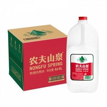 京东商城 凑单品:农夫山泉 饮用水 饮用天然水 4L*4桶 29.9元,合7.47元/桶