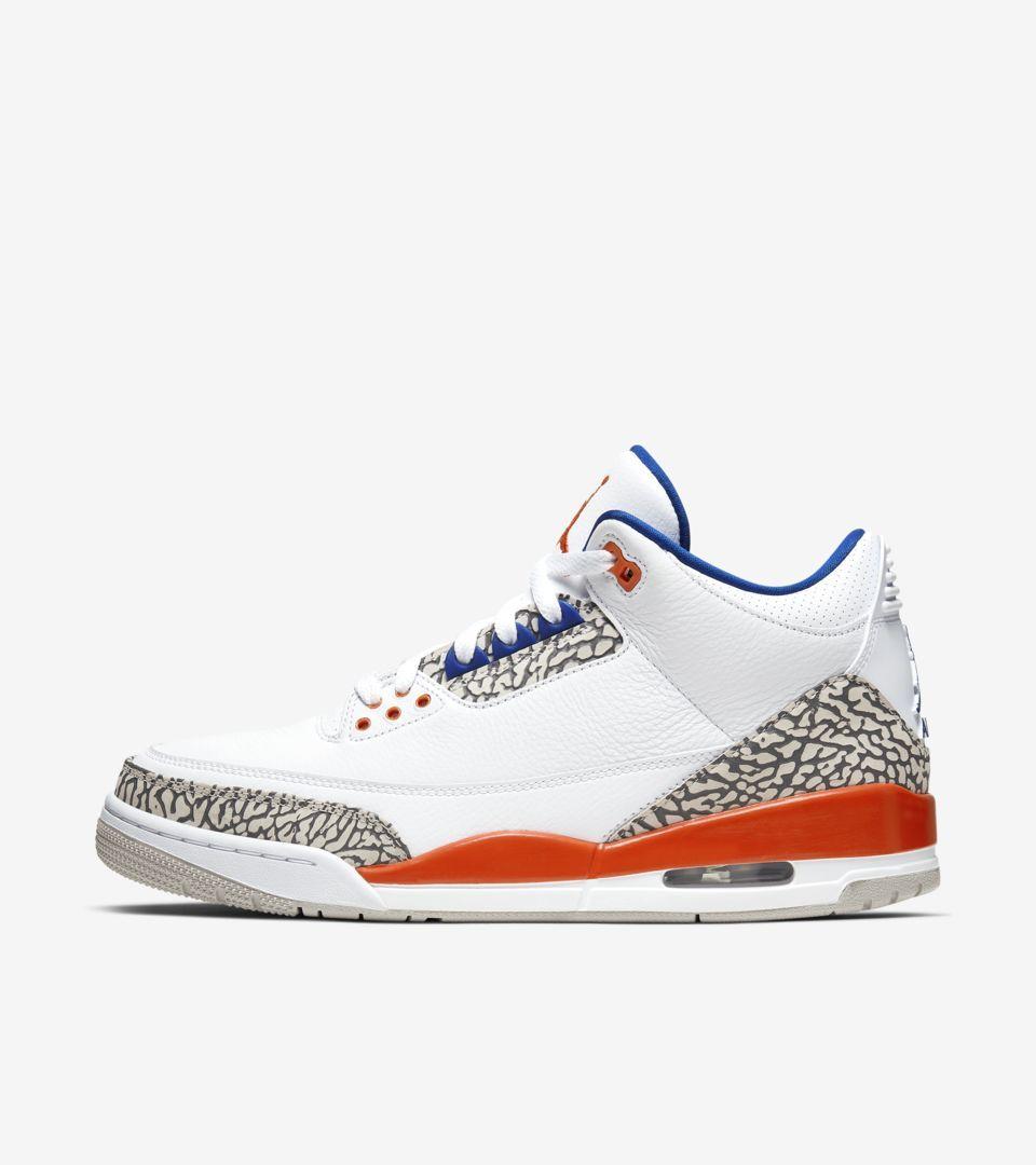 9点开始、新品发售: Air Jordan 3 尼克斯配色 篮球鞋 1399元