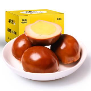 润成 卤蛋 休闲零食 泡面搭档 开袋即食鸡蛋 卤香味30g*20枚/盒 *9件 96.1元(合10.68元/件)