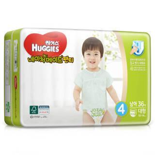 好奇(Huggies) 天然之选成长裤 L36片 *3件 231.99元(合77.33元/件)
