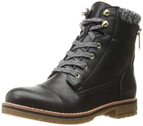 Tommy Hilfiger 女士 Omar2 格斗皮靴 限US8.5码 $20.27(约139.28元)