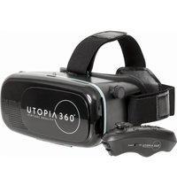 $2.99 (原价$19.99) ReTrak Utopia 360° VR 眼镜 + 蓝牙控制器