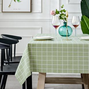 北欧餐桌布防水防油防烫免洗桌垫 ¥7