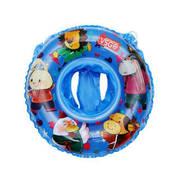 39.9元 紫強VSGO兒童造型游泳圈座圈3歲以上兒童寶寶舒適防翻游泳圈坐兜加長版座圈 藍色座圈'