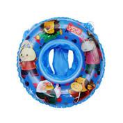 39.9元 紫強VSGO兒童造型游泳圈座圈3歲以上兒童寶寶舒適防翻游泳圈坐兜加長版座圈 藍色座圈