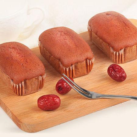 甜蜜岛 红枣蒸蛋糕 500g*2件 9.9元包邮(下单立减) ¥10