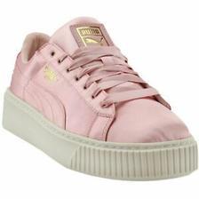 折合201.53元 PUMA 彪马 Basket Platform Satin 女子运动鞋