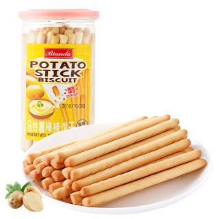 铁尺(Biando) 马铃薯棒棒饼干 原味 薯条手指饼干 磨牙棒 150g *13件 106.7元(合8.21元/件)