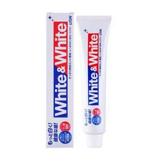 苏宁易购 LION 狮王 WHITE&WHITE洁白牙膏 150g *3件 26.7元包税包邮(需拼团)