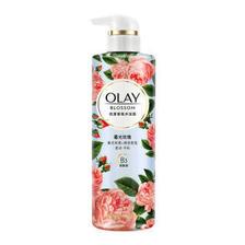 玉兰油(OLAY) 花漾香氛小花瓶沐浴露 暮光玫瑰550g +凑单品  券后42.8元