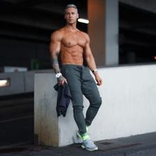 德国专业运动服饰 Gym Aesthetics 男士针织运动长裤 69元包邮
