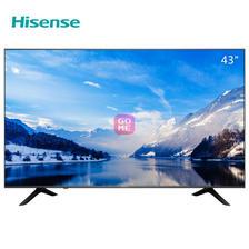 Hisense 海信 H43E3A 43英寸 超高清4K HDR 液晶电视 1488元包邮