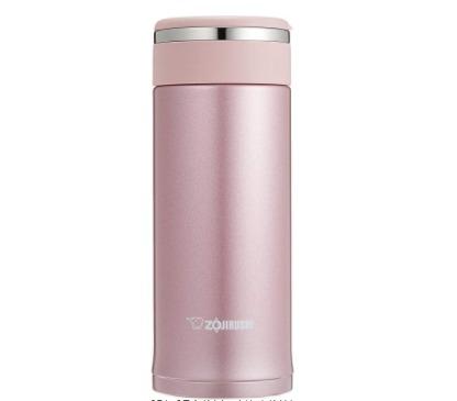中亚Prime会员: ZOJIRUSHI 象印 不锈钢保温杯 360ml 桃粉色 *2件 220.01元含税直邮(1 10.01元/件)