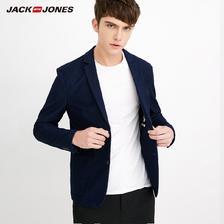 JACK JONES 杰克琼斯 218108501 男士休闲西服外套 130元