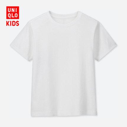 UNIQLO 优衣库 儿童袋装圆领t恤 25元包邮