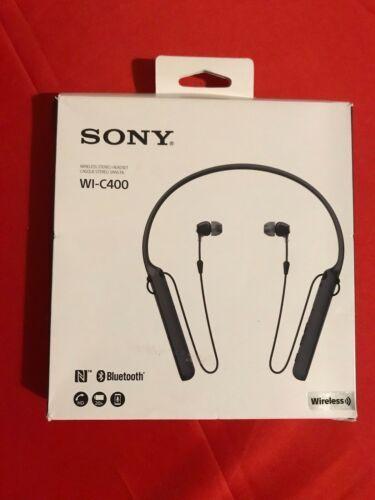 折合158.03元 SONY 索尼 WI-C400 入耳式无线蓝牙耳机 开箱版