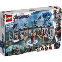 折合352.8元 LEGO 乐高 超级英雄系列 钢铁侠机甲陈列室 76125