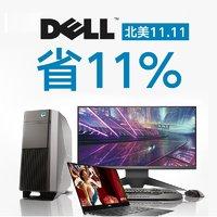 4K触屏 i7+16GB 新XPS13仅1259 Dell官网 新款XPS、外星人 折上折叠加8.9折超级促