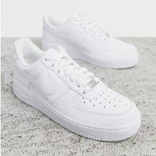 【中亚Prime会员】NIKE 耐克 Air Force 1 白色运动鞋