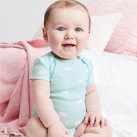 秋季连体外套$7 (原价$22) Carter's官网 婴幼儿服饰2.8折起大促,一年仅两次